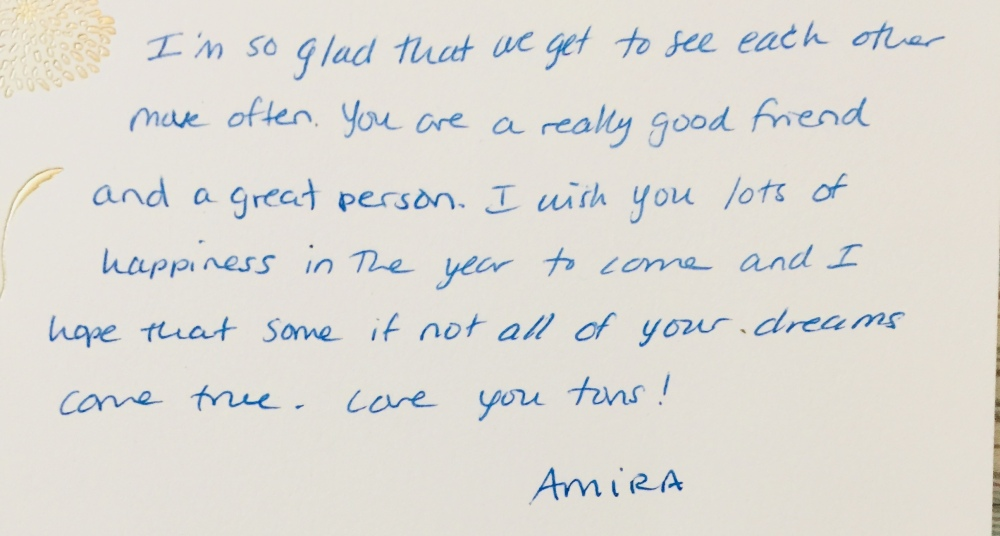 thank you letter amira